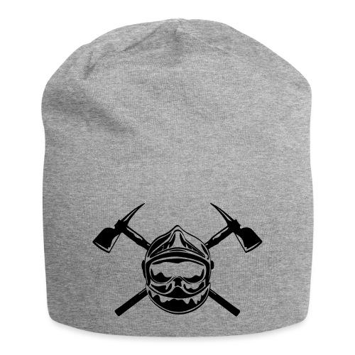 casque_pompier_2 haches - Bonnet en jersey