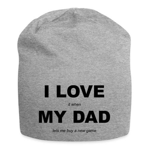 LOVE DAD GAME - Jersey Beanie