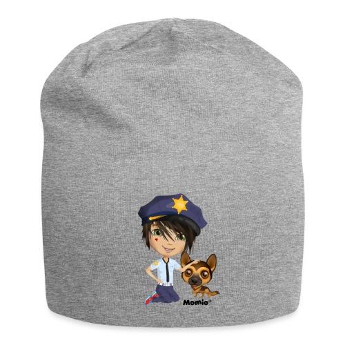 Jack und Hund - von Momio Designer Cat9999 - Jersey-Beanie