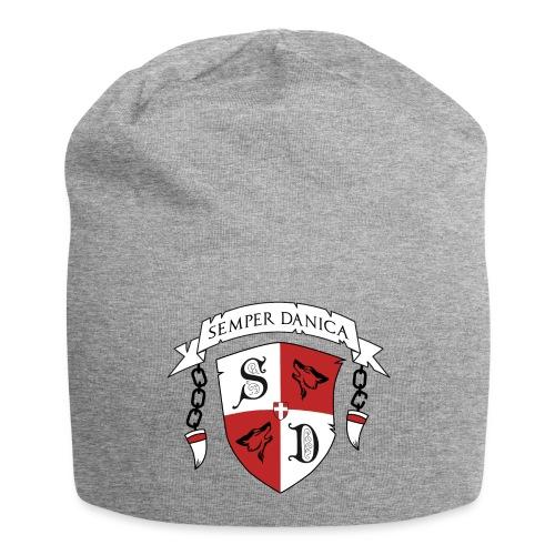 SD logo - sorte lænker - Jersey-Beanie