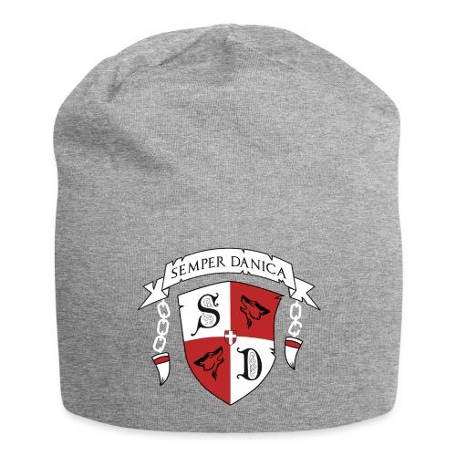 SD logo - hvide lænker - Jersey-Beanie