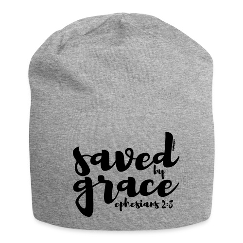 SAVED BY GRACE - Ephesians 2: 8 - Jersey Beanie