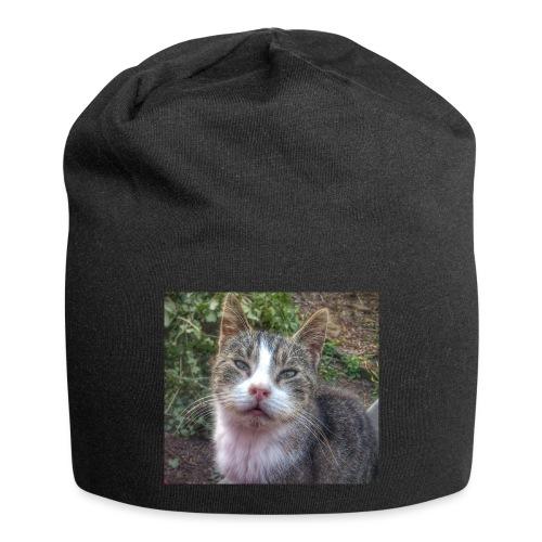 Katze Max - Jersey-Beanie