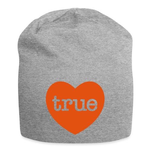 TRUE LOVE Heart - Jersey Beanie