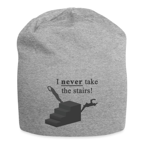 I Never Take The Stairs Grey Parkour - Jersey-Beanie