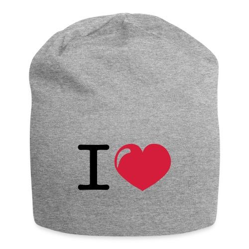 i love heart - Jersey-Beanie