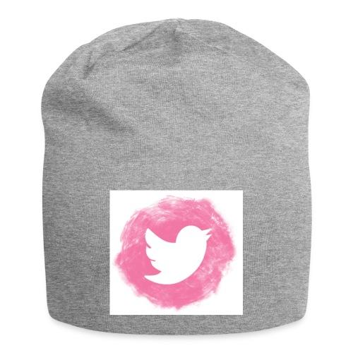 pink twitt - Jersey Beanie