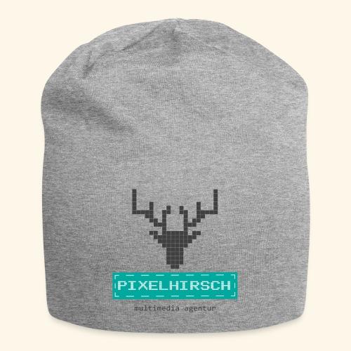 PIXELHIRSCH - Logo - Jersey-Beanie