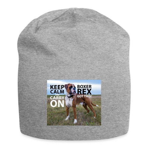 Keep calm and carry on - Jersey Beanie