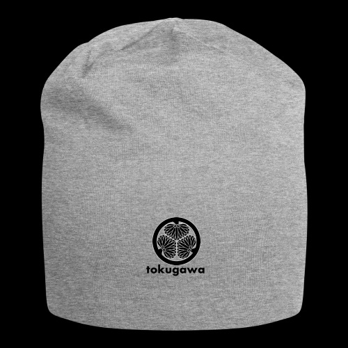tokugawa mon with title - Jersey Beanie