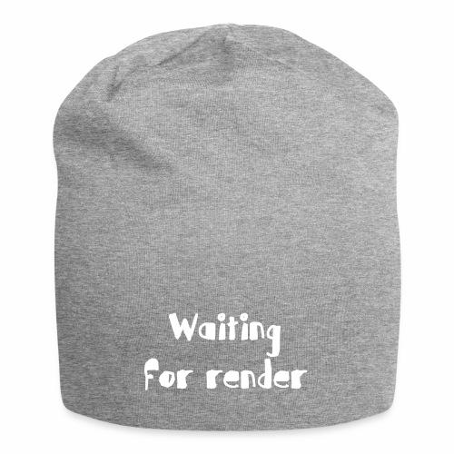 RENDER - Gorro holgado de tela de jersey