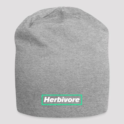 Herbivore Logo White - Beanie in jersey