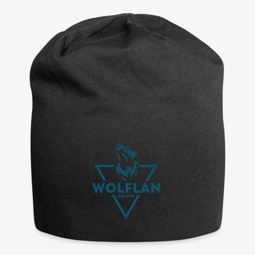 WolfLAN Logo Gray/Blue - Jersey Beanie