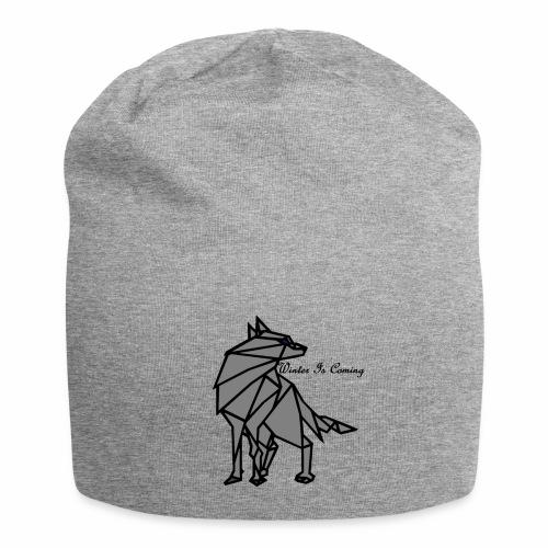 loup l'hiver vient - Bonnet en jersey