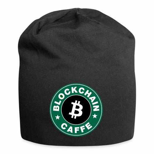 BlockChain Caffè Logo - Beanie in jersey
