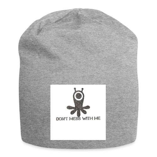 Dont mess whith me logo - Jersey Beanie