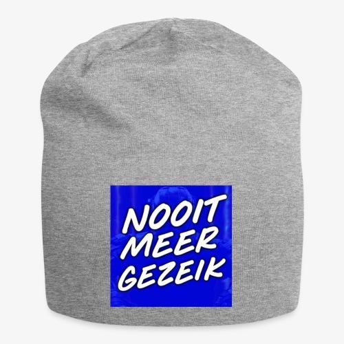 De 'Nooit Meer Gezeik' Merchandise - Jersey-Beanie