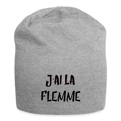 J'ai la FLEMME - Bonnet en jersey