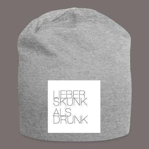 Lieber Skunk als Drunk - Jersey-Beanie