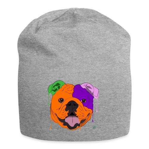 Bulldog - Beanie in jersey