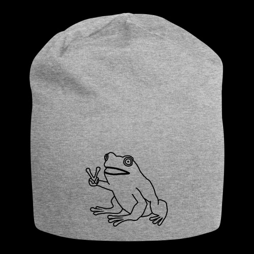 Funny Animal Frog Frosch - Jersey-Beanie