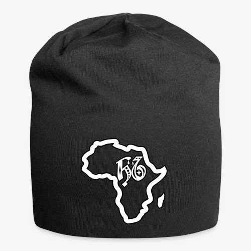 afrika pictogram - Jersey-Beanie