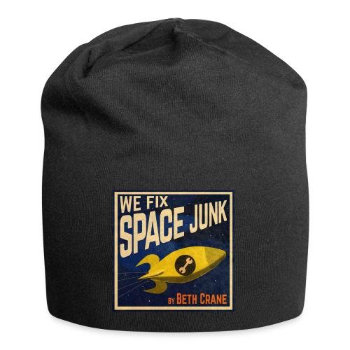 We Fix Space Junk logo (square) - Jersey Beanie