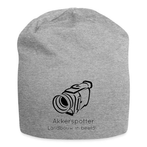Logo akkerspotter - Jersey-Beanie