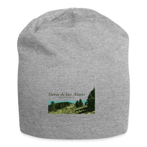 Sierra de las Nieves Parque Nacional - Gorro holgado de tela de jersey