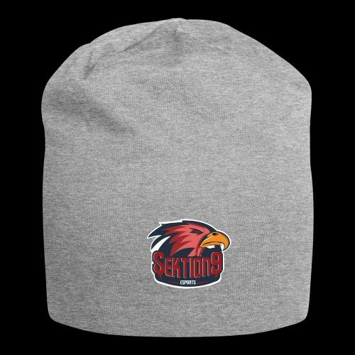 Sektion9 logo Rot - Jersey-Beanie