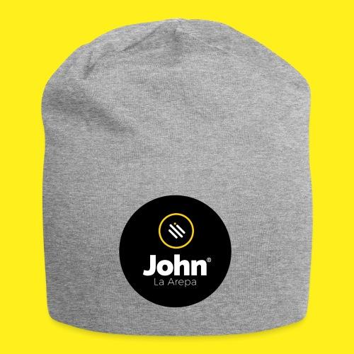 logo john - Gorro holgado de tela de jersey