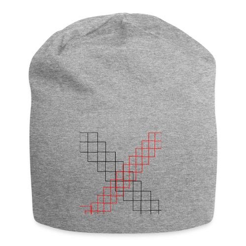 squares - Bonnet en jersey