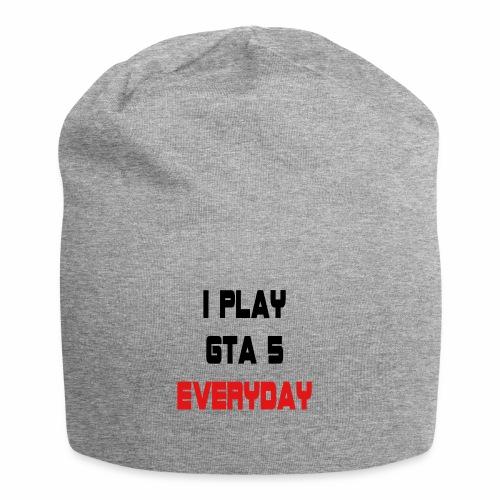 I play GTA 5 Everyday! - Jersey-Beanie