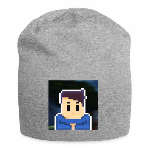 JoeWobbler Avatar with Background - Jersey Beanie
