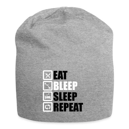 EAT BLEEP SLEEP REPEAT - Jersey Beanie
