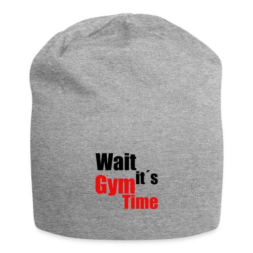 wait its gym time - Jersey-Beanie