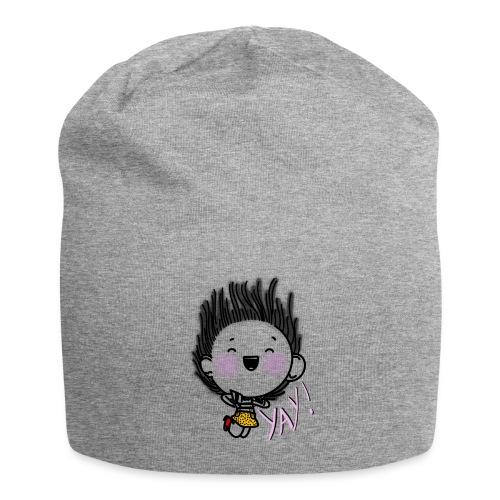 Happy girl - Bonnet en jersey