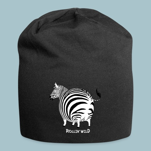 Rollin' Wild - Zebra - Jersey Beanie
