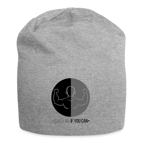 Muscle Noir/Gris - Bonnet en jersey