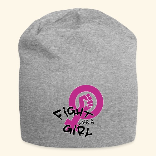 FIGHT LIKE A GIRL - Gorro holgado de tela de jersey