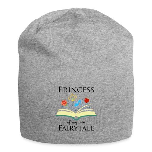 Princess of my own fairytale - Black - Jersey Beanie