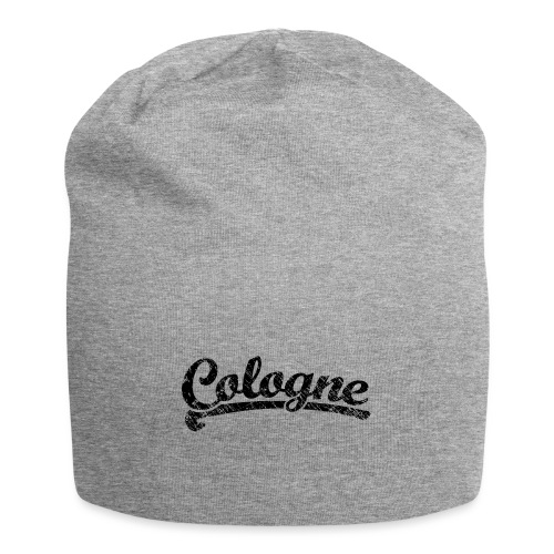 Cologne Classic Vintage Schwarz - Köln Design - Jersey-Beanie
