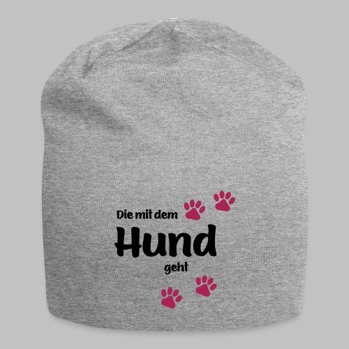 Die Mit Dem Hund Geht - Edition Colored Paw - Jersey-Beanie