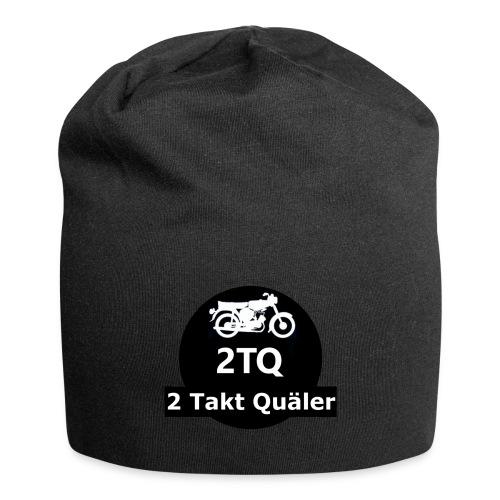2 Takt Quäler Logo - Jersey-Beanie