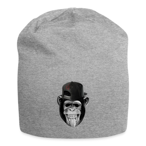 Logo Crazy Monkey - Beanie in jersey