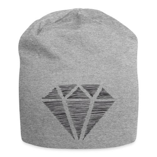 Diamante - Gorro holgado de tela de jersey