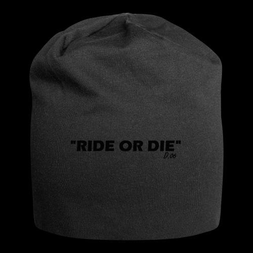 Ride or die (noir) - Bonnet en jersey