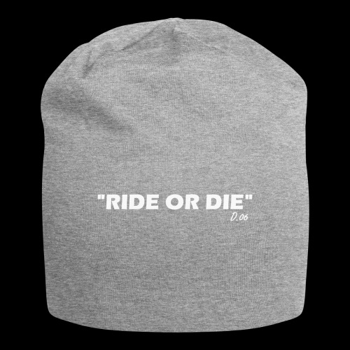 Ride or die (blanc) - Bonnet en jersey