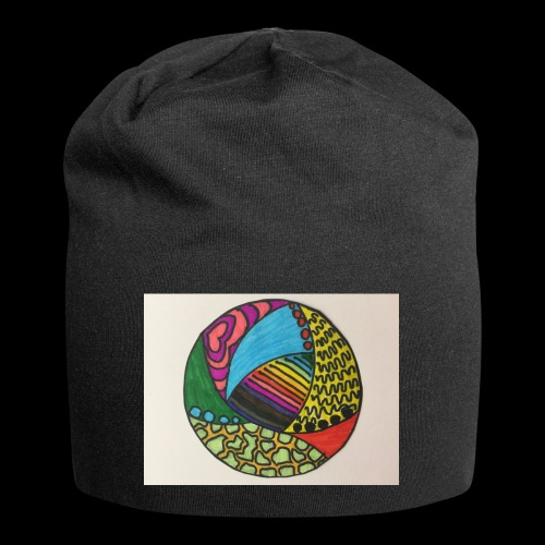 circle corlor - Jersey-Beanie