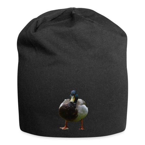 A lone duck - Jersey Beanie